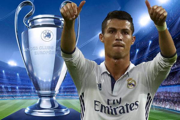 استعاد المهاجم البرتغالي كريستيانو رونالدو عافيته التهديفية مع ريال مدريد الإسباني في مسابقة دوري أبطال أوروبا