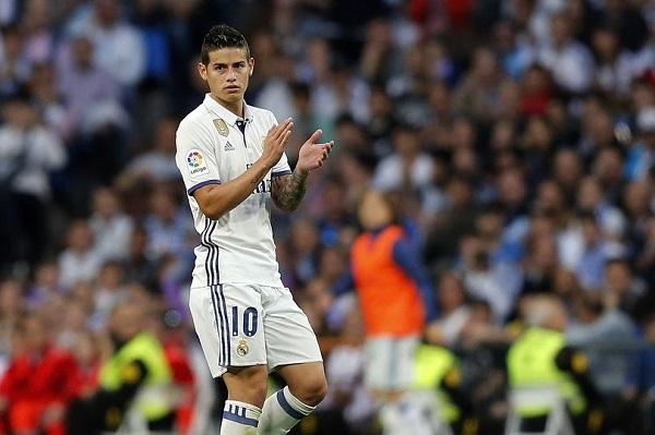 هل ودع رودريغيز جماهير ريال مدريد؟