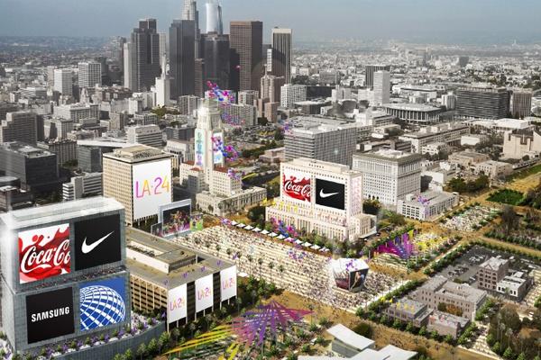 أبدت لجنة التقييم التابعة للجنة الاولمبية الدولية اقتناعها بخطة المواصلات، والتي كانت تعد إحدى نقاط ضعف ملف مدينة لوس انجليس