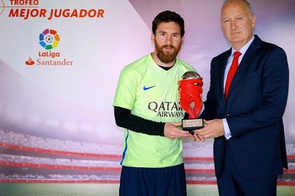 تألق ميسي بشكلٍ لافت خلال مباريات الدوري الإسباني لكرة القدم التي جرت خلال شهر أبريل الماضي