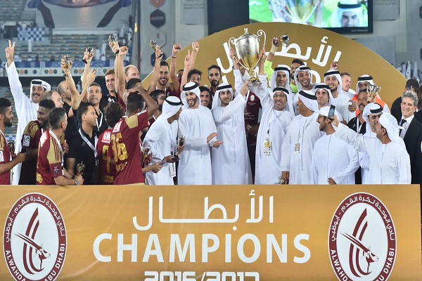 الوحدة يكتسح النصر ويتوج بلقب كأس الامارات للمرة الثانية