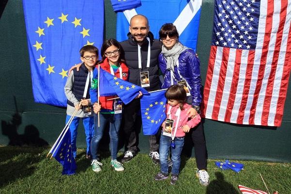 نجاة عائلة غوارديولا من اعتداء مانشستر الإرهابي