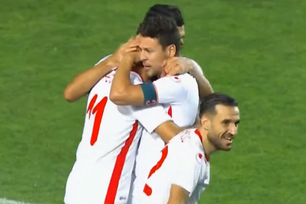 تغلب المنتخب التونسي على نظيره المصري على ملعب رادس
