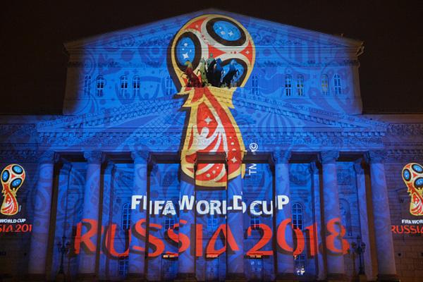 تستضيف روسيا كأس العالم من 14 يونيو الى 15 يوليو 2018