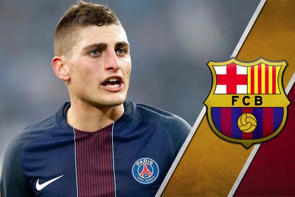 أكبر مشكلة تواجه نادي برشلونة هي أنّ باريس سان جيرمان لا يفضل بيع فيراتي