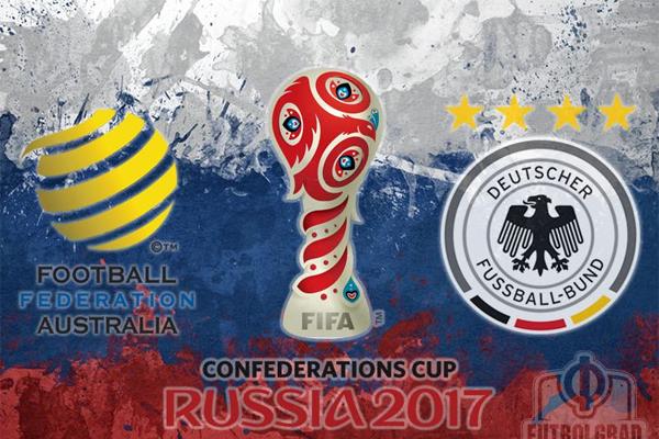 تخوض ألمانيا بطلة العالم اول اختبار في مسابقة كأس القارات ضد استراليا