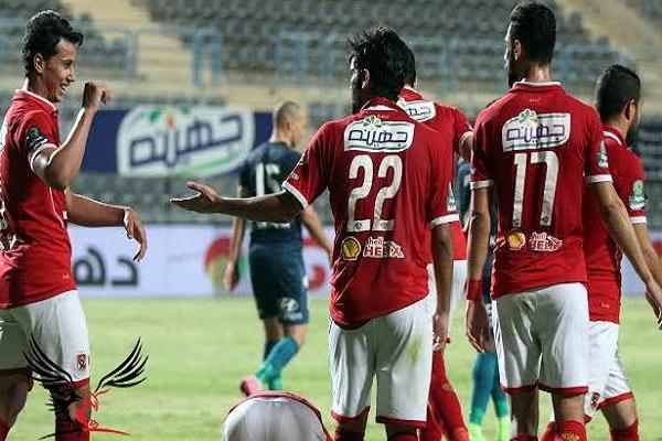 الأهلي المصري يفلت من الخسارة في ليلة الاحتفال باللقب