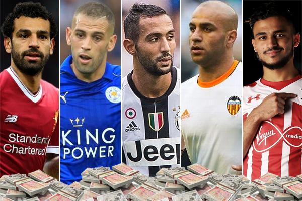 أصبح المهاجم المصري محمد صلاح أغلى لاعب عربي في تاريخ انتقالات اللاعبين العرب في أوروبا