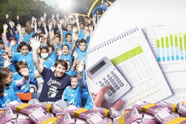 مؤسسة ميسي الخيرية اقدمت على إخفاء مبالغ مالية كبيرة لا تقل قيمتها عن 10 ملايين يورو