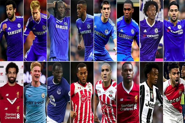 جميع اللاعبين الذين فرط فيهم النادي اللندني قد نجحوا في التألق مع أنديتهم الجديدة