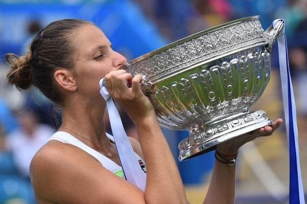 التشيكية بليسكوفا تحرز لقب دورة ايستبورن