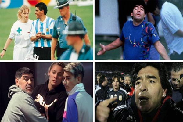 رغم مرور أكثر من 20 عاماً على اعتزاله اللعب إلا ان فضائح مارادونا لا تزال تثير جدلاً واسعاً