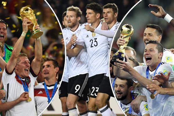 يتطلع المنتخب الألماني أن يكون فوزه ببطولة كأس القارات 2017 فأل خير عليهفي العام القادم ليتوج بلقب كأس العالم 2018