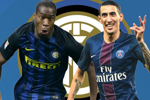 إنتر ميلان يمكن أن يعرض لاعب خط وسطه جيفري كوندوغبيا على باريس سان جيرمان كجزء من عرضه للتعاقد مع أنخيل دي ماريا