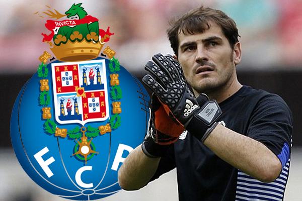 مدد حارس مرمى ريال مديد الاسباني السابق ايكر كاسياس عقده مع فريقه بورتو البرتغالي