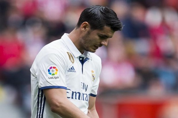 النجم الإسباني ألفارو موراتا، مهاجم ريال مدريد