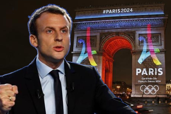 أكد الرئيس الفرنسي ايمانويل ماكرون استعداد باريس لاستضافة دورة الألعاب الاولمبية الصيفية 2024