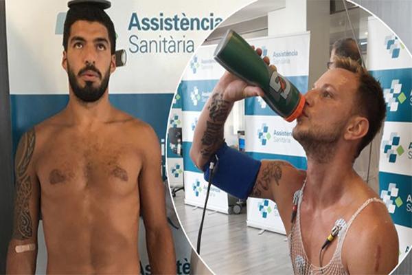 عاود لاعبو برشلونة تمارينهم استعدادا للموسم الجديد في إشراف مدربهم الجديد إرنستو فالفيردي
