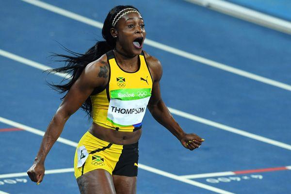 عاودت طومسون حاملة ذهبيتي ريو 2016 في 100 و200 م جولتها العالمية، بعدما حققت أفضل رقم لهذا الموسم في كينغستون الجامايكية