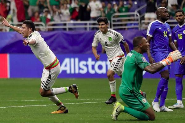 رفعت المكسيك رصيدها الى 7 نقاط بتغلبها على كوراساو