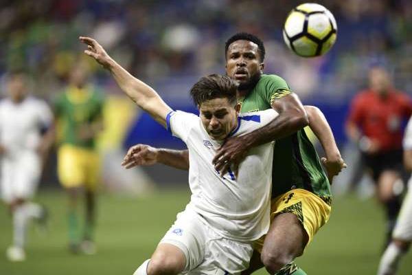 تعادلت جامايكا مع السلفادور 1-1