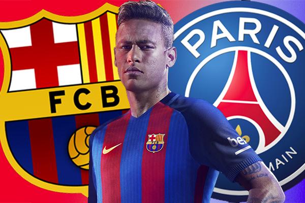 أثارت تحركات نادي باريس سان جيرمان الفرنسي للتعاقد مع البرازيلي نيمار حفيظة قلق جماهير ومسيريالنادي الكتالوني