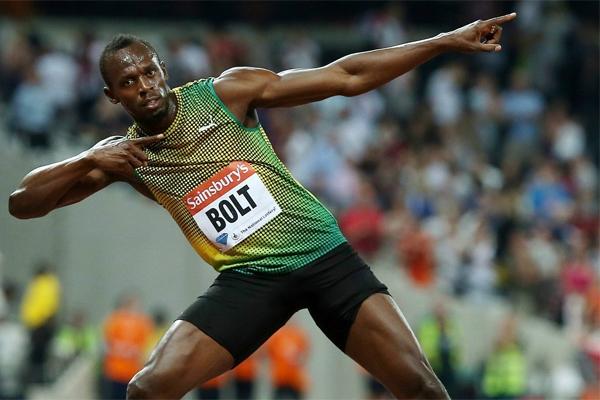 البطل الأولمبي الجامايكي أوساين بولت