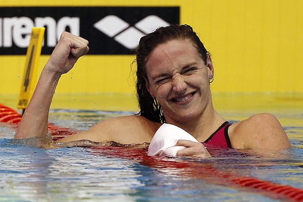 تتطلع السباحة المجرية كاتينكا هوسوالى فرض هيمنتها بين جماهيرها وفي أحواض بلادها في مونديال 2017
