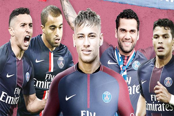 اللاعبين البرازيليين سوف يسعادون في التأقلم في نادي باريس سان جرمان