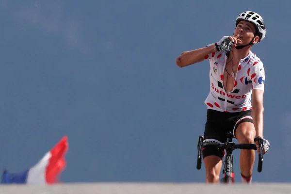 حقق الدراج الفرنسي وارن بارغيل المركز الاول في المرحلة الثامنة عشرة من طواف فرنسا الدولي