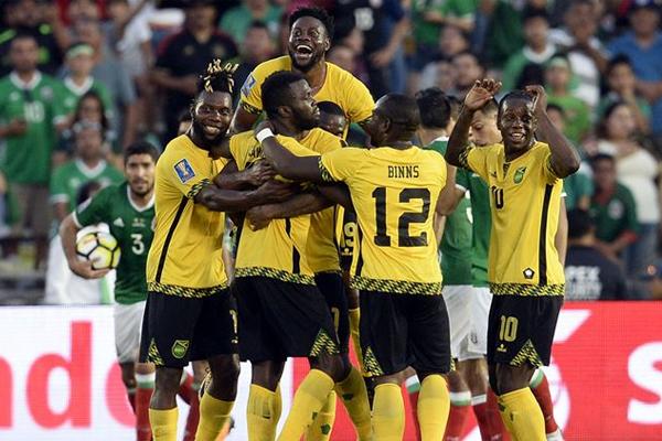 ثأر منتخب جامايكا لكرة القدم من نظيره المكسيكي وجرده من اللقب بفوزه عليه 1-صفر