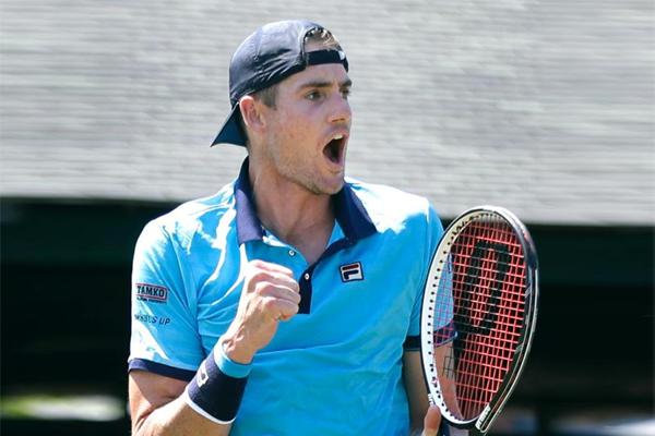 تقدم الاميركي جون ايسنر الى المركز العشرين في تصنيف لاعبي كرة المضرب المحترفين