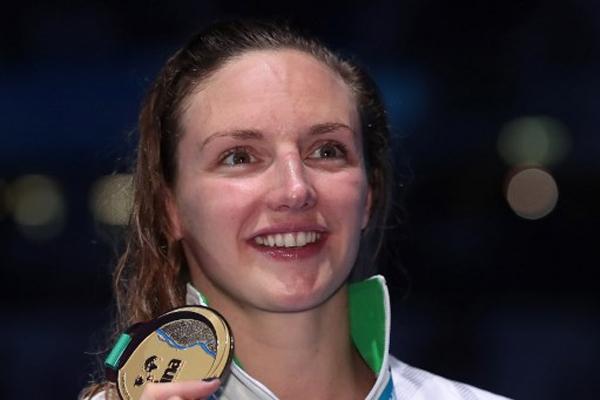 احتفظت المجرية كاتينكا هوسو بذهبية سباق 200 م متنوعة في بطولة العالم السابعة عشرة للسباحة