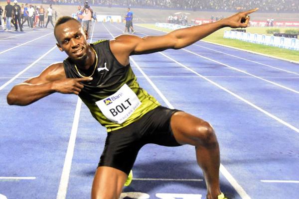 تصدر النجم الخارق أوسين بولت قائمة المنتخب الجامايكي المشارك في بطولة العالم لالعاب القوى