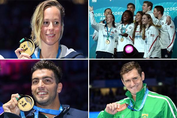 تصدرت الولايات المتحدة ترتيب الميداليات مع 6 ذهبيات، مقابل 3 لكل من الصين وبريطانيا و2 لايطاليا