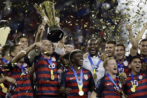 احرز المنتخب الاميركي لقب الكأس الذهبية الخاصة بمنطقة الكونكاكاف