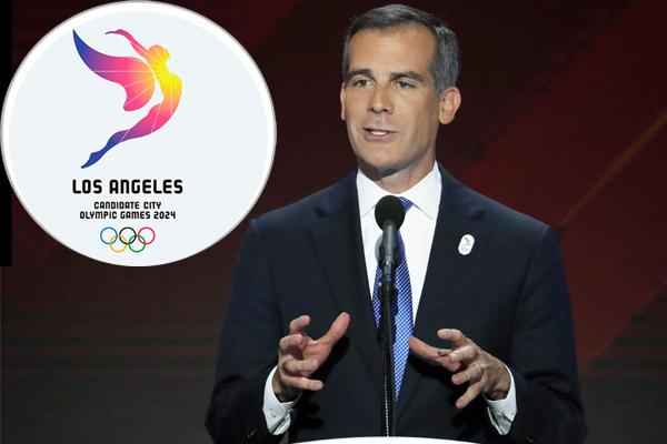 اكد عمدة مدينة لوس انجليس الاميركية ايريك غارسيتي انه سيكون من الغباء عدم استضافة دورة الالعاب الاولمبية الصيفية في 2028