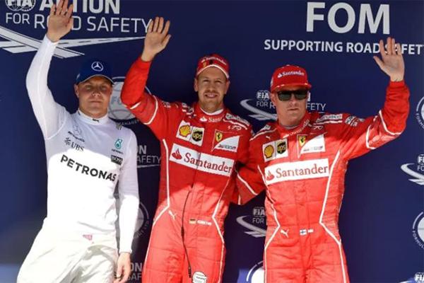 سيكون الالماني سيباستيان فيتل سائق فريق فيراري أول المنطلقين في جائزة المجر الكبرى