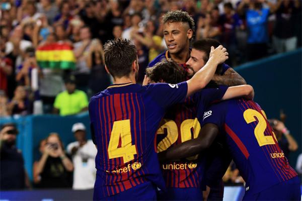 برشلونة حسم لقاء الـ