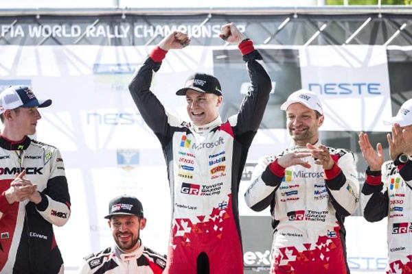 أعاد سائق تويوتا ايسابيكا لابي لقب رالي فنلندا الى السائقين المحليين وذلك بتحقيق فوزه الأول في مسيرته