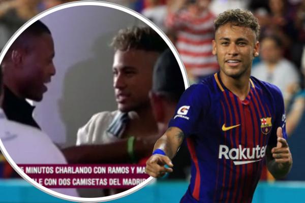 لا يستبعد أن يكون راموس ومارسيلو قد تطرقا مع نيمار إلى قضية انتقاله إلى باريس سان جرمان وإمكانية تحويل مساره إلى ريال مدريد