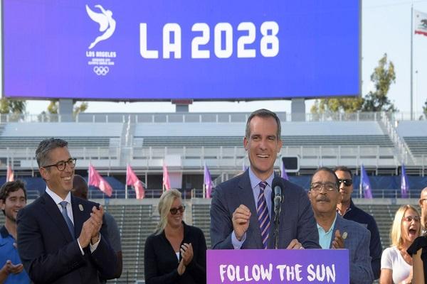 مجلس مدينة لوس انجليس يدعم قرار استضافة أولمبياد 2028
