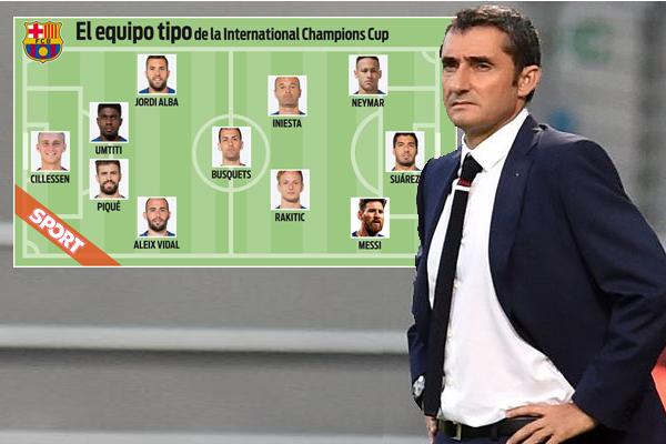 فالفيردي استغل مشاركة الفريق في بطولة كأس الأبطال الدولية لتحديد معالم التشكيلة الأساسية التي سيعتمد عليها