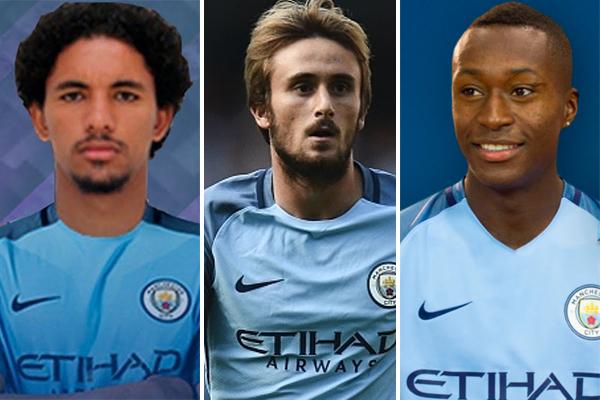 اعار مانشستر سيتي ثالث الدوري الانكليزي لكرة القدم 3 لاعبين واعدين الى خيرونا الصاعد حديثا الى الدوري الاسباني