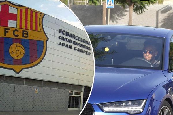 نادي برشلونة ألمح للرحيل الوشيك للنجم البرازيلي إلى نادي باريس سان جيرمان