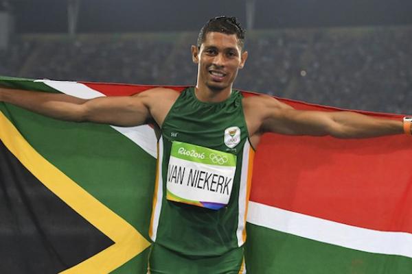 فان نيكرك اظهر موهبته على المضمار، فسحق في اولمبياد ريو 2016 الرقم القياسي العالمي للاميركي مايكل جونسون في سباق 400 م