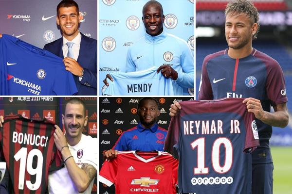 سيكون لانتقال نيمار الى نادي باريس سان جرمان الفرنسي تأثير بالغ على سوق الانتقالات الصيفية