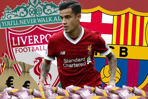 استسلم نادي ليفربول لإغراءات نادي برشلونة للتنازل عن لاعبه الدولي البرازيلي كوتينيو