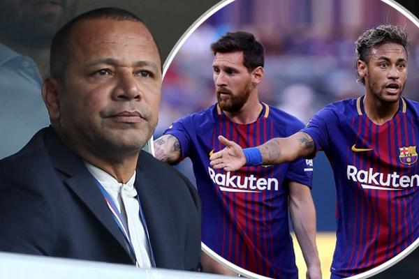 أكد والد الدولي البرازيلي نيمار أنّ نجله رحل عن نادي برشلونة لأنّه لم يكن يريد أن يدخل في منافسة مع الأرجنتيني ليونيل ميسي