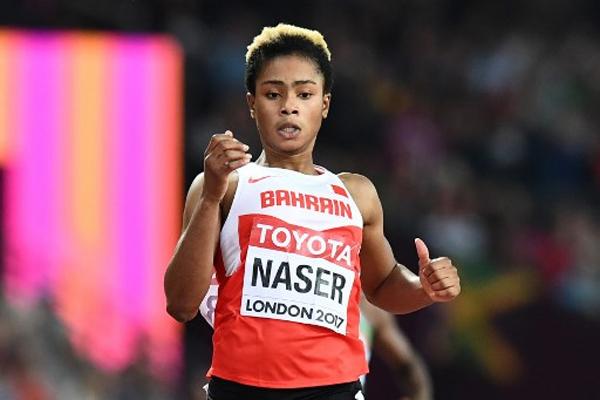 تألقت العداءة البحرينية الشابة سلوى عيد ناصر وتأهلت الى نهائي سباق 400 م في بطولة العالم لالعاب القوى